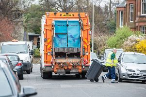 Many refuse collectors worked over their holidays during the festive period. Picture: Ian Georgeson