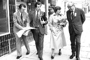 The Gang of Four ' from left, Dr David Owen, Bill Rodgers, Shirley Williams and Roy Jenkins ' who broke away from Labour to form the SDP in the early 1980s in protest at the party's shift to the left. Picture: PA