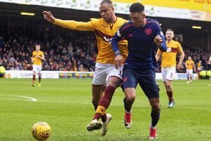 Sean Clare is finding his feet at Hearts. Pic: SNS