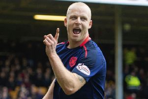 Steven Naismith is wanted by Hearts, but has offers in America's MLS. Pic: SNS