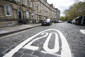 Most streets in Edinburgh now have a 20mph limit. Picture: Greg Macvean