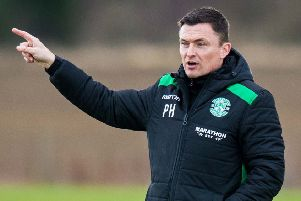 Hibernian manager Paul Heckingbottom says it has been '27/7' since he arrived