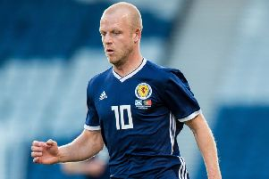 Steven Naismith is set to win his 50th cap for Scotland