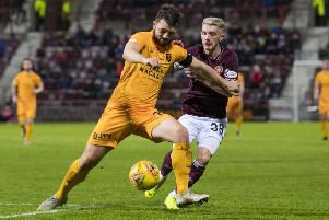 Livingston's Craig Halkett has been linked with a move to the Capital. Picture: SNS/Ross Parker