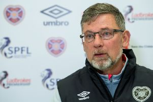 Craig Levein expressed some sympathy for the pressure on referees. Picture: SNS Group