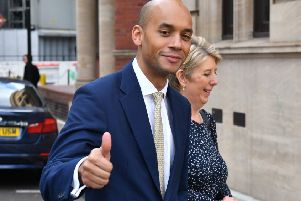 Chuka Umunna and Angela Smith have quit as Labour Party MPs. Picture: Dominic Lipinski/PA Wire