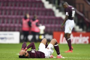 Hearts need to bounce back from Saturday's disappointing 1-1 draw with St Mirren