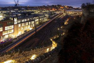 Jacob's Ladder has reopened after a refurbishment by Edinburgh World Heritage. Picture: Tom Duffin
