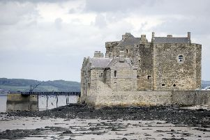 Blackness Castle in West Lothian has experienced record breaking visitor numbers since appearing in television series Outlander. PIC: Michael Gillen.