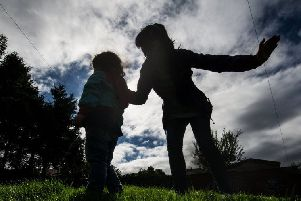 A smacking ban has been proposed in Scotland and Wales. Picture: John Devlin