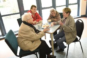 Storm in a teacup: Neighbourhood centres facing cuts give users an opportunity to get together (Picture: Greg Macvean)