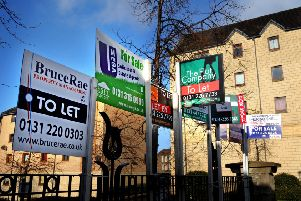Many people have been priced out of Edinburgh's housing market (Picture: Jane Barlow)