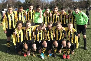 Hutchison Vale Under-14s booked their place in the SPORTSassist South East Region Cup final