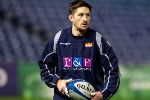 New deal: Scrum-half Henry Pyrgos. Picture: SNS Group/SRU