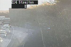 The incident occurred westbound between the Straiton and Lasswade junctions.