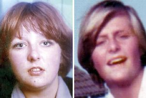 Undated Lothian and Borders Police file handout photos of Christine Eadie (left) and Helen Scott. Picture: PA/Wire