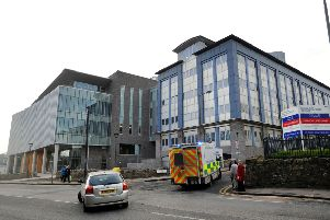 General view of the Edinburgh Western General Hospital Crewe Road South, Edinburgh,. Pic: Ian Rutherford