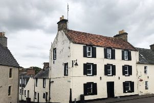 The Forest Inn in Auchtermuchty has gone up for sale. PIC: Contributed.