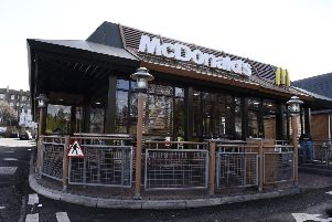 The McDonald's on London Road 'has been stripped of its 24-hour licence after the company failed to call police following an assault there. Pic: Lisa Ferguson