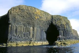 The spellbinding island of Staffa. PIC: National Trust for Scotland/Sue Anderson.