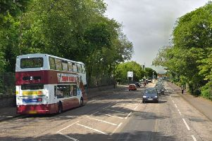 A disturbance broke out on a number 21 bus as it was travelling along Ferry Road. Picture: Google Street View