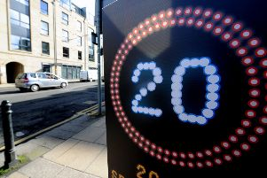 Opposition to the 20mph scheme is particularly strong here in the Lothians. Picture: Lisa Ferguson