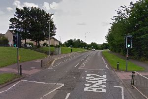 The incident occurred on the B6482 at Mayfield, Dalkeith. Picture: Google Street View
