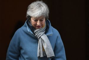 Theresa May's plans for a third 'meaningful vote' on her Brexit plan have been thrown into disarray (Picture: Stefan Rousseau/PA Wire)