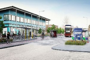 Concept designs created by design consultants AECOM, to be exhibited as part of the consultation