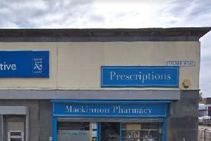 Pharmacy customer was stabbed after he fought off criminal in Edinburgh