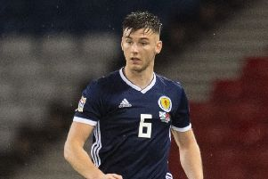 Ruled out: Kieran Tierney. Picture: SNS Group
