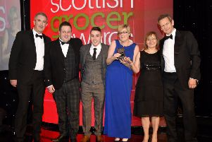 Pinkie Farm Convenience Store is named Chilled Retailer of the Year  at the Scottish Grocer Awards