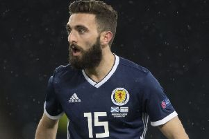 Alex McLeish has total confidence in handing Graeme Shinnie the left-back role
