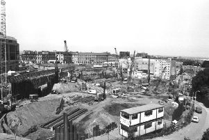 The Greenside gap-site, pre-Omni Centre, in  July 1989. Picture: TSPL