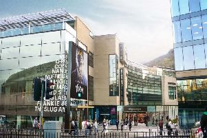 Artist impressions showing proposed redevelopment of Omni centre