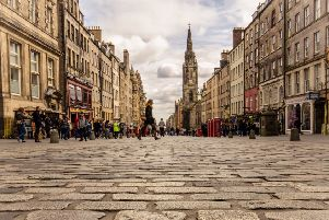 Edinburgh residents in the city centre are to be put at the heart of a new tourism strategy. Picture: Alicia Garcia