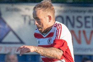 Lee Currie scored a fantastic free-kick for Bonnyrigg