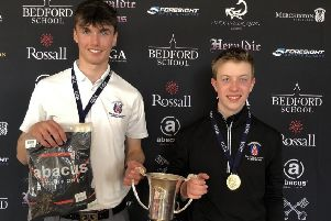 Merchiston duo Cameron Adam and Daniel Bullen won the Independent Schools Northern Open at Fleetwood
