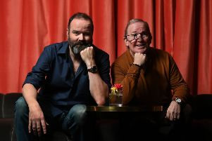 Greg Hemphill (left) and Ford Kiernan play Still Game duo Jack and Victor. Picture: John Devlin