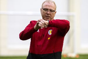 Is Alex McLeish's time up? Picture: SNS Group
