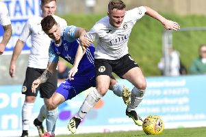 Andrew Black expects a tough clash against relegation-threatened Berwick
