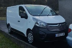 The van was stolen from outside an address in Fauldhouse. Picture: Contributed