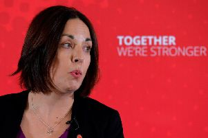 Former Labour leader Kezia Dugdale could stand for an MEP seat in Europe. Picture: Mark Runnacles/Getty Images