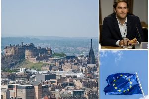 Edinburgh's council leader has underlined the vital role of EU nationals in the city's future.