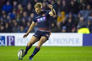 Jaco van der Walt was key to Edinburgh's victory in Wales