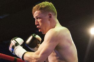 Stephen Tiffney was stopped in the seventh round in Dubai
