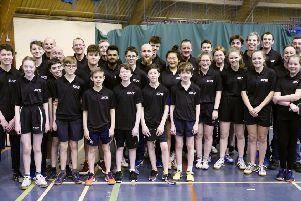 Bill Lothian's Community Sport: Table tennis, volleyball, squash