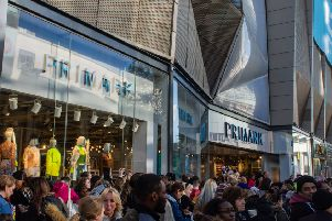 The opening of the biggest Primark store in the world. Picture: Aaron Chown/PA Wire