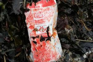 The coke can that was discovered