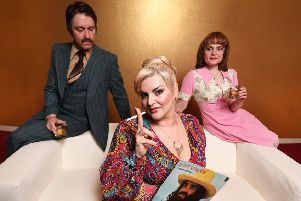 Jodie Prenger stars as Mike Leigh's modern classic Abigail's Party tours to Edinburgh